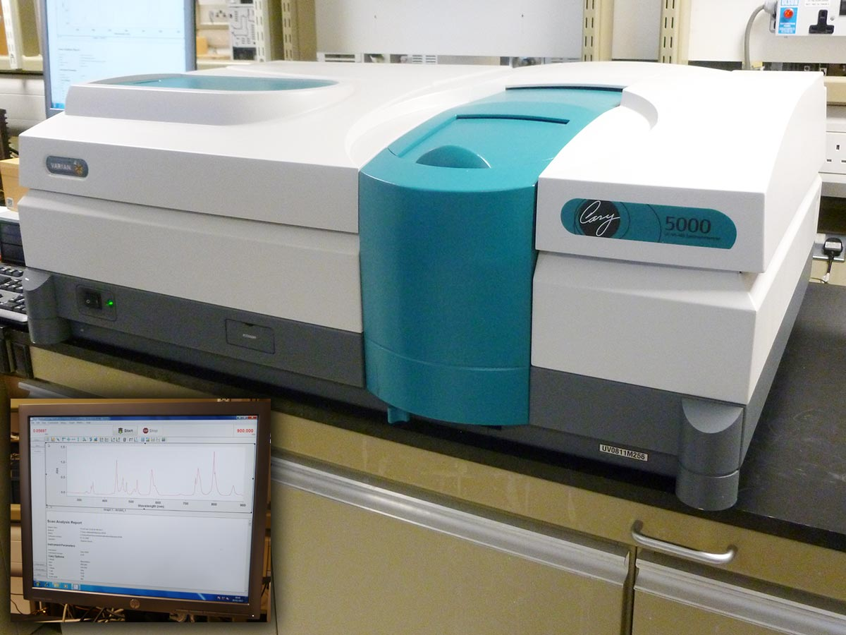 Varian Cary 5000 UV Spectrophotometer